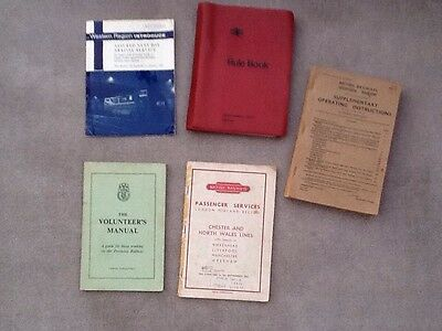 Old Railway Books From The 1960's And 1970's