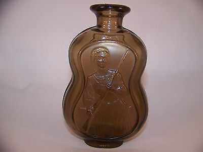DAR Daughters Of The American Revolution Glass Bottle D.A.R. 1979 Excellent Cond