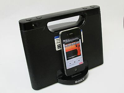 Sony Personal Audio Docking Speaker System 30 Pin Ipod iPhone Dock RDP-M7iP