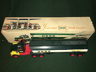 1968 Hess Tanker Truck, Lights work, rare ,vintage, collectible, Marx Toys !!!