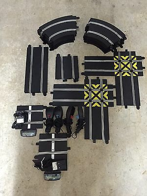 Hornby Scalextric Sport Joblot Of Track, Slot Cars Job Lot. Digital ?