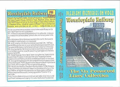 Wensleydale Railway Dvd - A Brief History Up To 2004