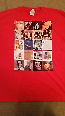 James The Band Tim Booth T Shirt Album Covers Extra Large