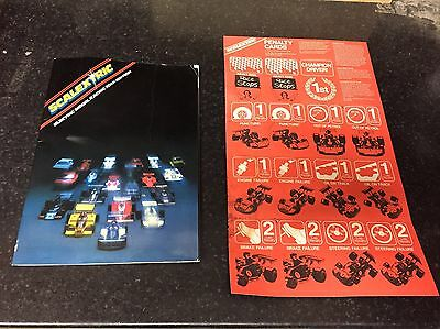 Hornby Scalextric 20th Edition Magazine, Catalogue, Classic SCX, Slot Cars