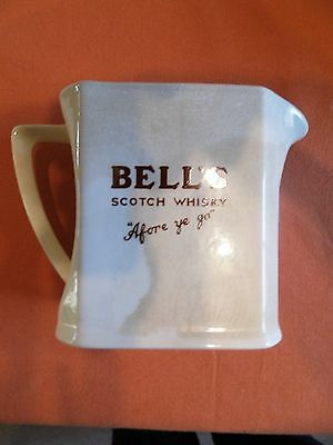 Bell's Scotch Whisky water jug 'Afore ye Go' collectable by Wade