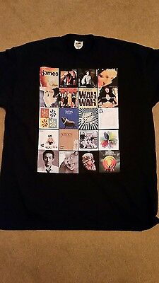 James The Band Tim Booth T Shirt Album Covers