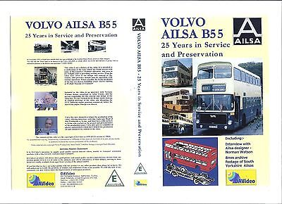 Volvo Ailsa B55 Dvd - 25 Years In Service And Preservation - 2004