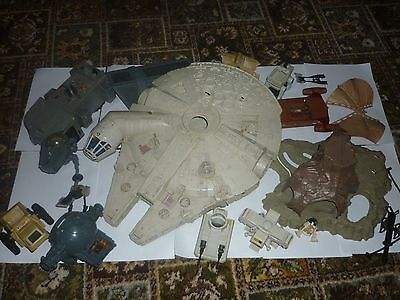 Vintage Kenner Star Wars Millenium Falcon and Various