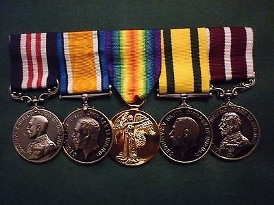 Great Britain - Ww1 Military Medal & Meritorious Service Medal Group Of Five