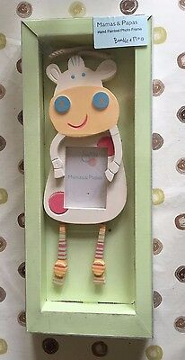 Mamas and Papas Hand Painted Photo Frame - Nursery Furniture (Bumble and Moo)