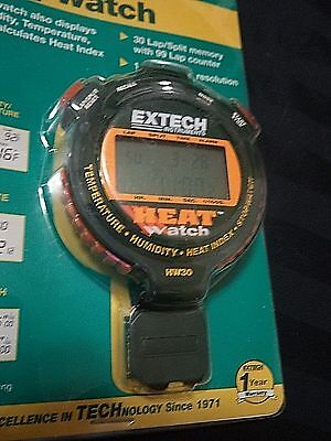 Brand New Extech HW30 Heat Index Stopwatch Humidity Temperature Digital