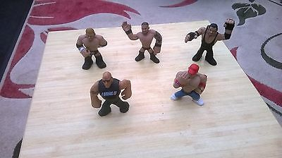 Wrestling Collection. Five Wresting Figures.