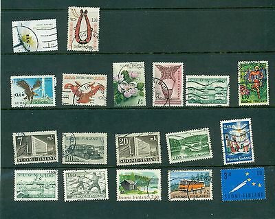 Finland stamps selection Suomi