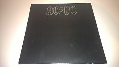 AC/DC - Back In Black - IRISH PRESSING LP IRELAND HEAVY METAL