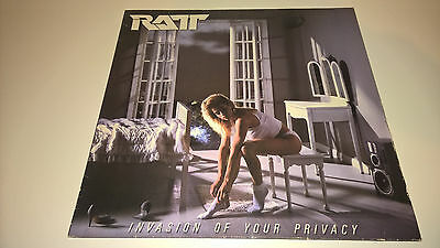 RATT - Invasion Of Your Privacy - IRISH PRESSING LP IRELAND HEAVY METAL