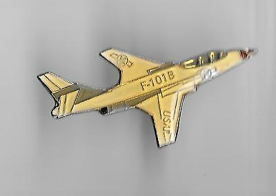 Vintage F-101B Voodoo Bomber Aircraft 4 old enamel pin