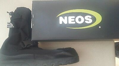 "NEOS 10"" Voyager Nylon All Season Overshoes VNN1 Size *Large*"