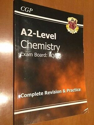 A2-level Chemistry complete revision and practice book- exam board AQA