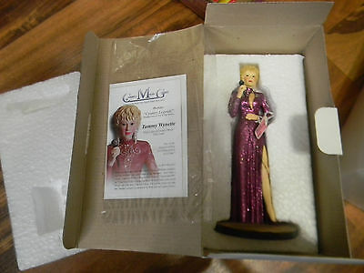 Tammy Wynette Figure Country Music Greats Deluxe Figurine In Box