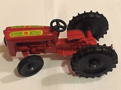 Rare Collectable Vintage Farm King Diecast Tractor