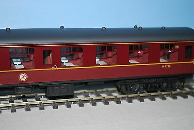 Aquitrains O gauge Mk1 TSO carriage in BR lined maroon - new / boxed