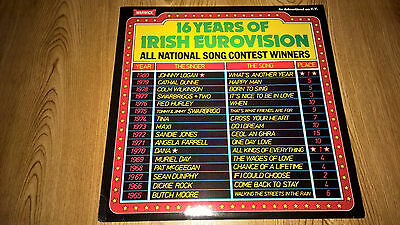 16 Years Of Irish Eurovision Lp - 1965 - 1980