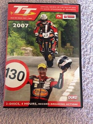 The Isle of Man T.T. Review 2007 DVD Produced by Duke - 2 Disc DVD