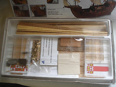 Santa Maria 1492 1/65 Scale Wood Model Ship Kit Artesania Latina