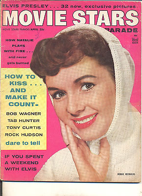 Movie Magazine - Movie Stars Parade 4/57 Debbie Reynolds cover