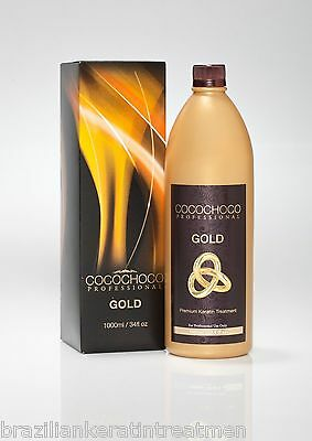COCOCHOCO GOLD Brazilian Blow Dry Keratin Straightening Treatment 1 Litre KIT