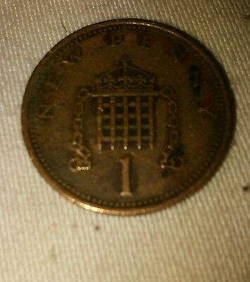 1p coin 1974 NEW PENNY