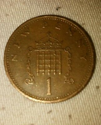 1p coins 1971 NEW PENNY