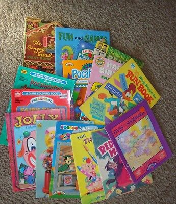 Large Lot of 15 NEW Children's Activitay/Coloring books