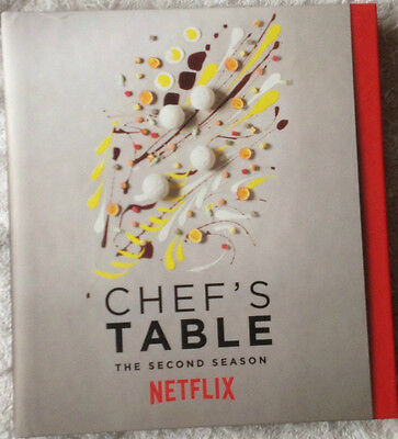 Chef's Table, Netflix FYC  2 DVDs Promo NEW Condition Complete Season Two 2016
