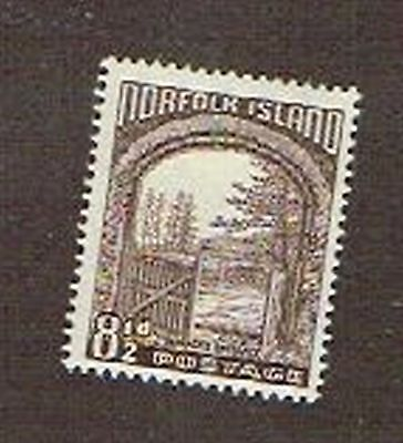 (13-967b) 1  Mint  Postage sTamp from Norfolk Island