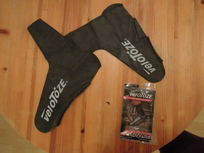 Velotoze Tall Shoes covers Cycling size large black