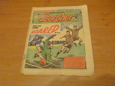 Scorcher Comic  16th January 1971