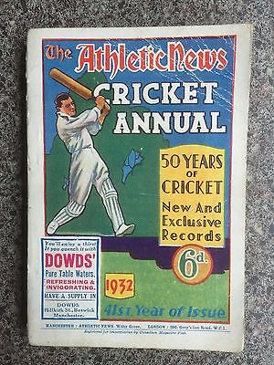 The Athletic News Cricket Annual 1932