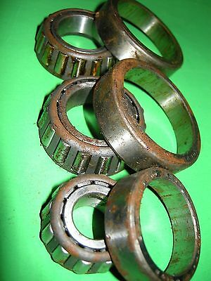 Humber Classic Car Tapered Roller Bearings x 3 by Timken