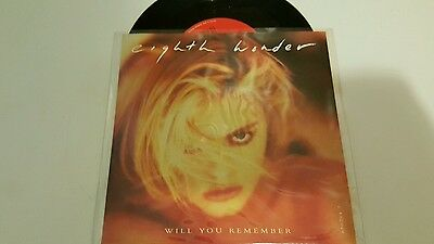 """Eighth Wonder/Will You Remember/1987 7"""" Single/"""