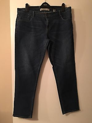 Ladies Next Relaxed Skinny Jeans Size 18R