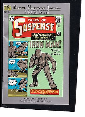 Marvel Milestone Tales of Suspense 39 reprint first appearance of Iron Man
