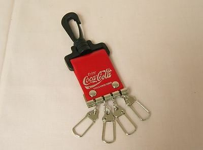 NEW Coca Cola Coke Novelty Four Rings Keychain