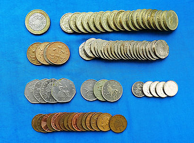 Lot of Current Great Britain Coins *27.4 GBP*