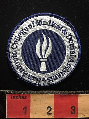 San Antonio College Of Medical And Dental Assistants Texas Medical Patch 71F2