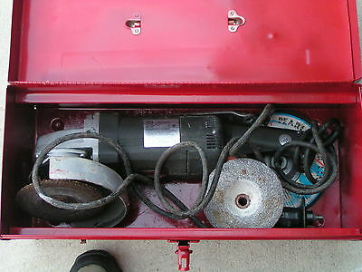 "Black And Decker Professional 7"" Angle Grinder 4070 Used"