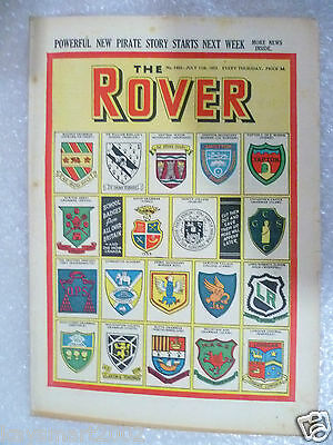 THE ROVER Comic, No.1463, 11th July 1953