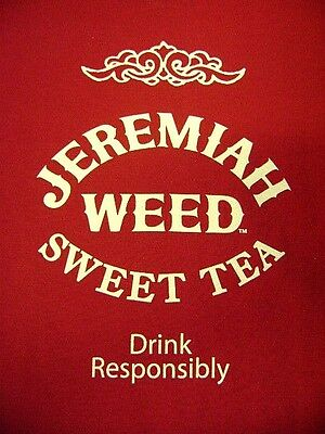 T-Shirt Men's XL Jeremiah Weed Sweet Tea Red Short Sleeve 100% Cotton New NOS