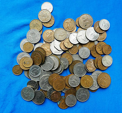 Lot of Vintage Great Britain Coins *1.75 Lbs.*