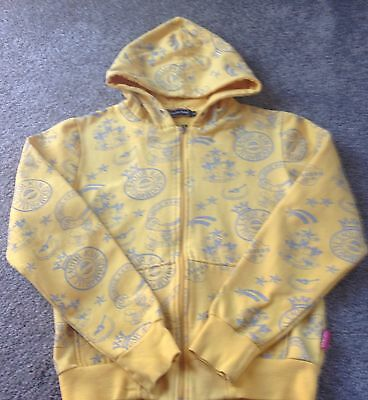 Girls Wherenean Finery Hoody, Yellow, Size XL